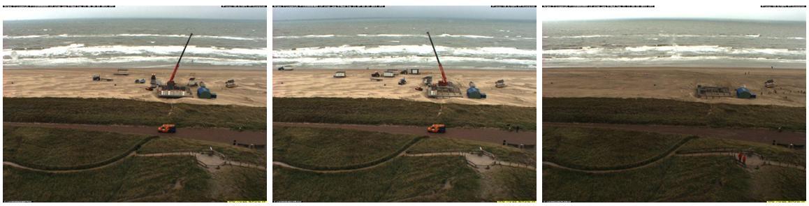 verplaatsing strandpost