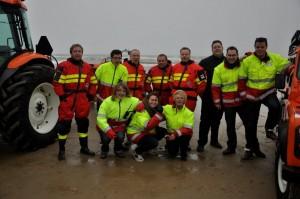 ERB-ers actief bij Nieuwjaarsduik Egmond