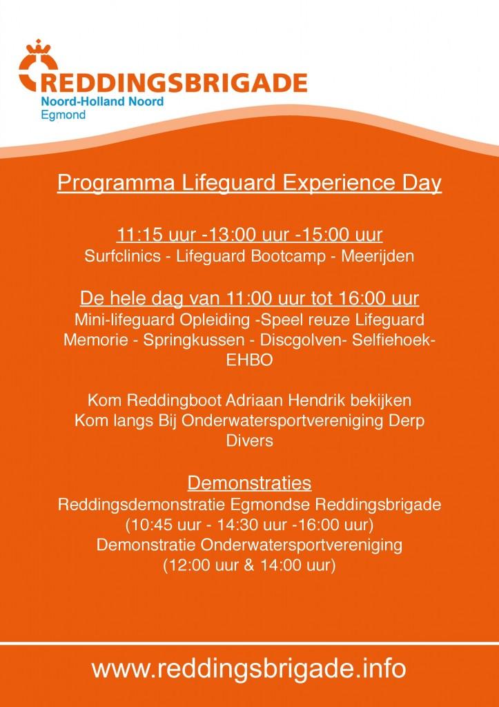 Programma Lifeguard Experience Day